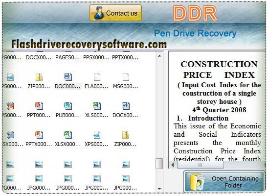 Windows 7 Thumb Drive Recovery Software 5.3.1.2 full